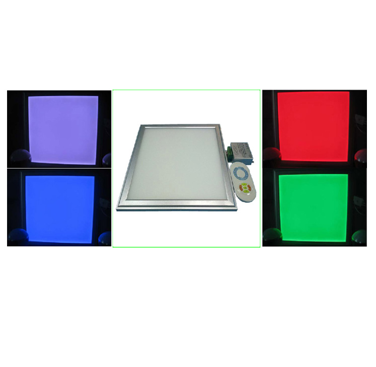 rgb side lit led panel light 42w 60x60. Black Bedroom Furniture Sets. Home Design Ideas