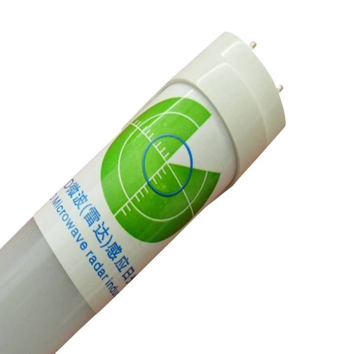 T8 LED Tube with microwave radar sensor