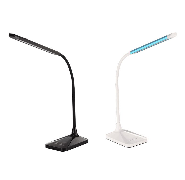 Color changing led desk lamp