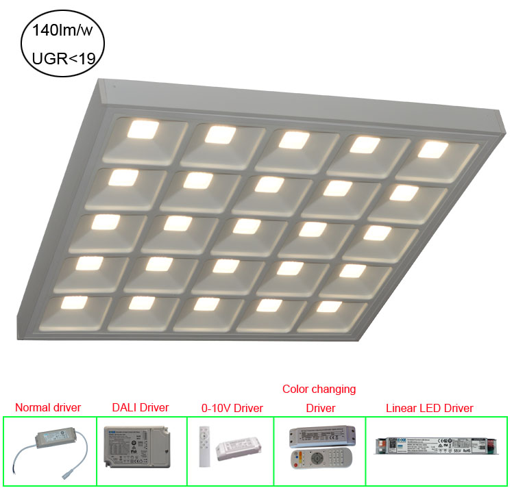 Mounted Surface LED Panel Light UGR19 6262
